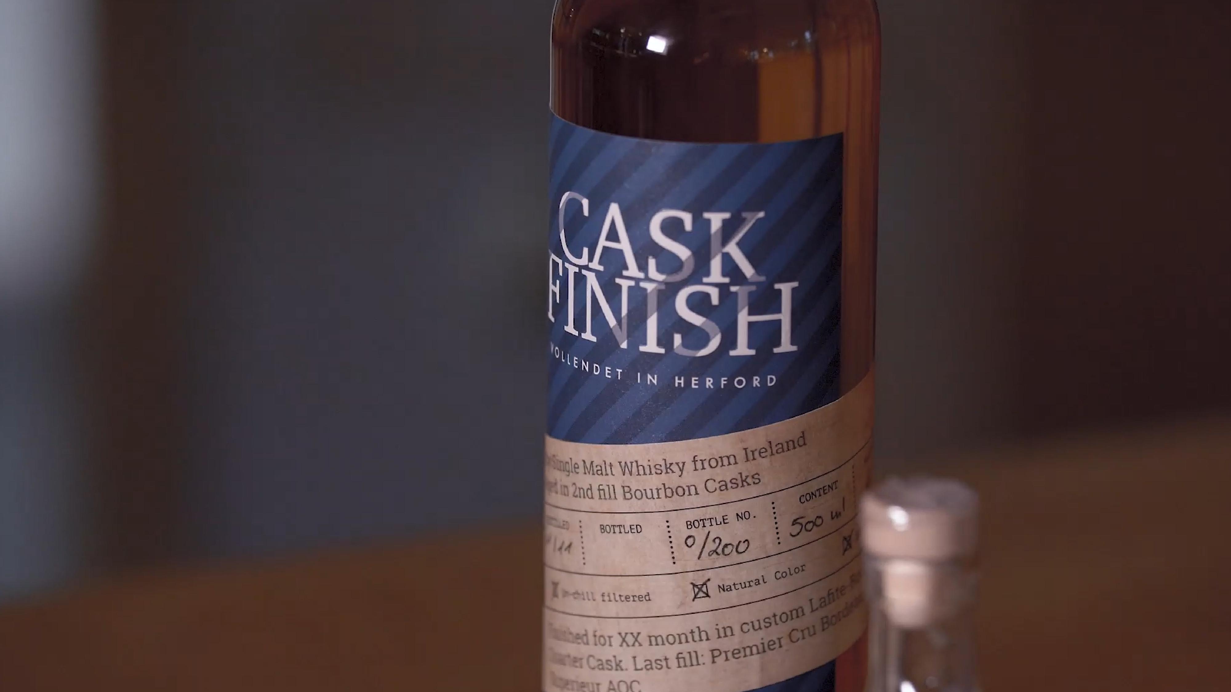 Cask Finish - Single Malt Whisky